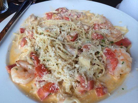 Io leggo un libro roccia Semplicità  Tuta mare. Very good - Picture of Babbo's Spaghettaria, Chesterfield -  Tripadvisor