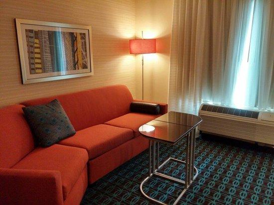 Fairfield Inn & Suites DuBois : Sitting area.