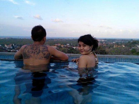 Park Hotel Nusa Dua: me and fiance