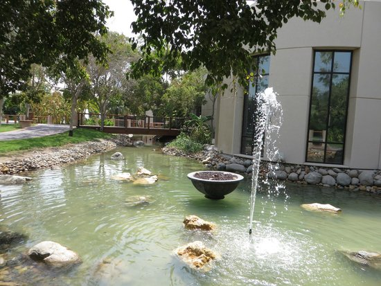 Grand Hyatt Dubai: Hotel grounds