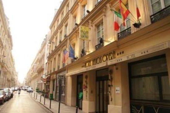 Emeraude Hotel Hélios Opéra : ホテルの外観