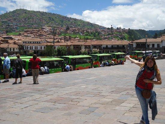 Cusco Explorers: vista de la ciudad de cusco!!!