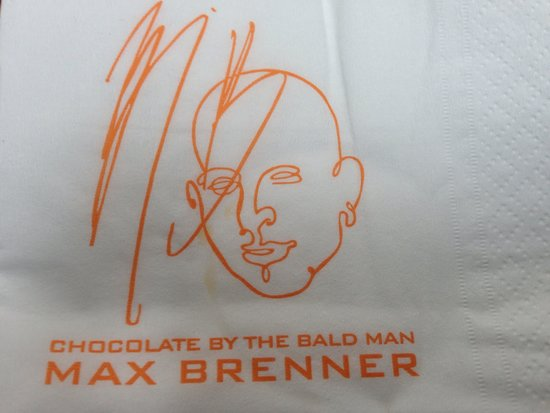 Max Brenner Chocolate Bar : The icon