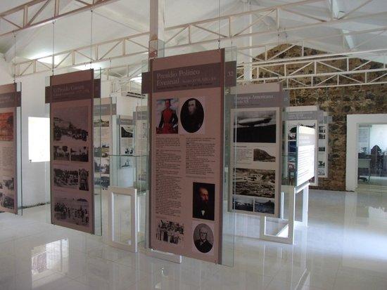 Fernando de Noronha Memorial : Vista interna do Memorial