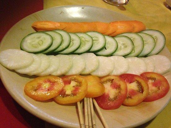 Hi Peace Garden Restaurant: veggie salad