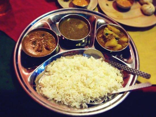 Hi Peace Garden Restaurant: Non Veggie Set Meal