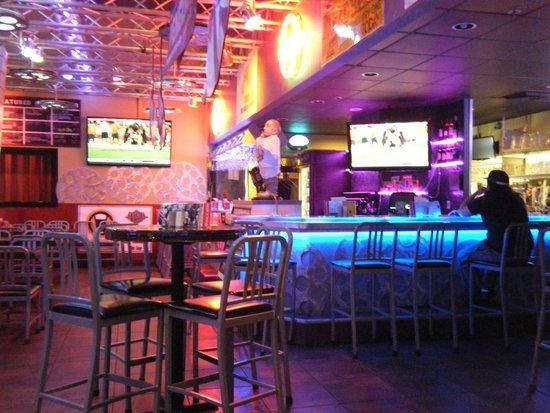 Bar inside picture of cinema cafe virginia beach