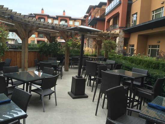 The Restaurant at Watermark: Patio