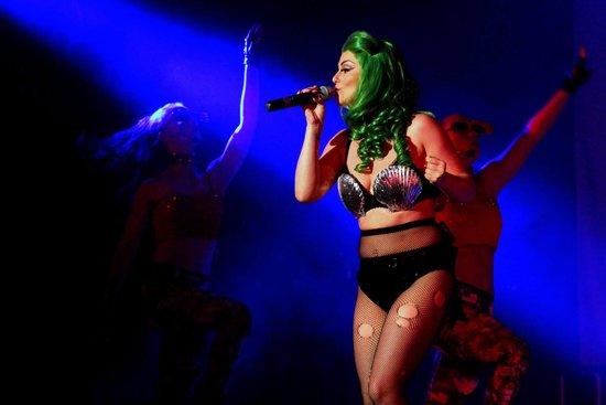 Legends Blackpool : Leanne Fury as Lady Gaga