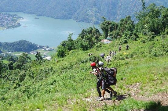 Sarangkot Paragliding