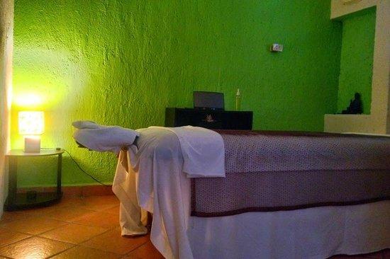 Devas Spa Cozumel: salon de masaje