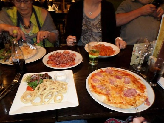 Milan Italian Restaurant: Food