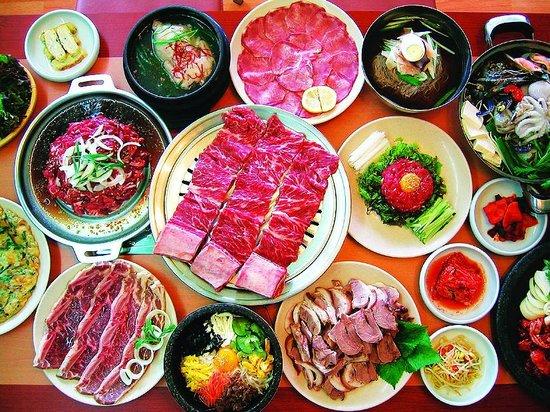 Seoul One : 骨付きカルビ 牛タン 他