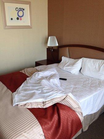 Best Western Premier Gangnam: un lit de la chambre de '708'