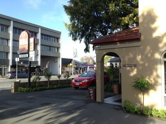 Roma on Riccarton Motel: Reception