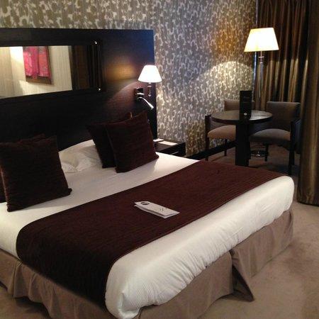 Hotel Palladia : chambre