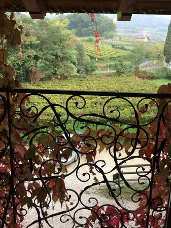 Locanda D&D Maso Sasso : View out of the bedroom window