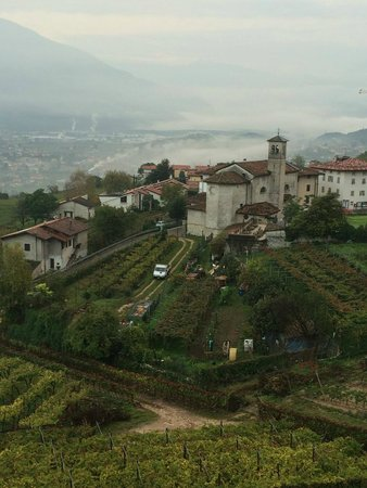 Locanda D&D Maso Sasso : View from the Top room