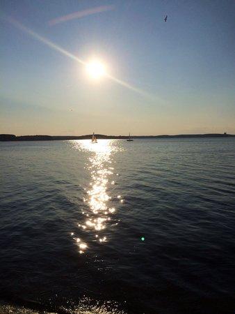 Minsk Sea: Минское море ( закат )