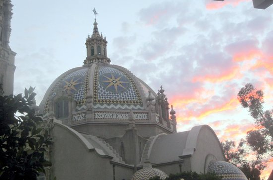 San Diego Museum of Man: Museum of Man at Sunset, Balboa Park, San Diego, Ca