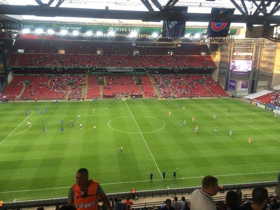 Telia Parken : Stadium FCK- Dnipro 2-0