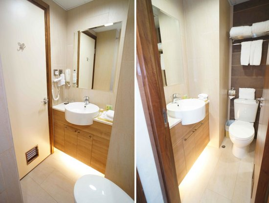 H1 Hotel: Bathroom of Superior Twin and Double Room