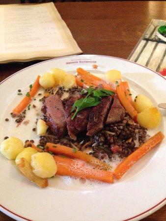 Bremer Ratskeller: Very wealthy meal