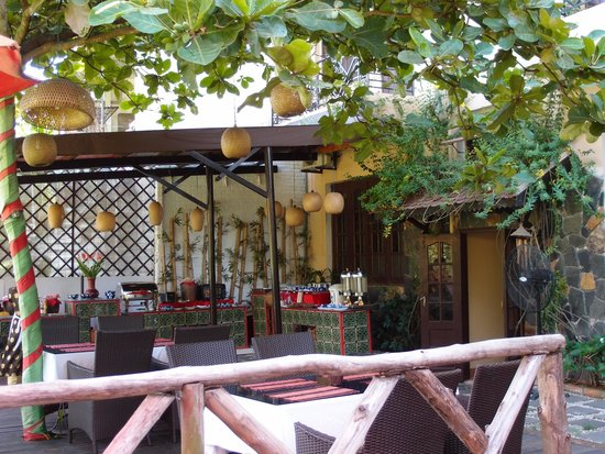 Thien Thanh Boutique Hotel: 朝食場所