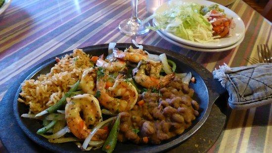 Cactus Cafe: Fajitas - lecker!