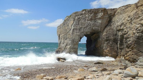 Quiberon, Francia: The Great Arch