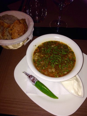 Bacchus Bistro Chic: Beef soup