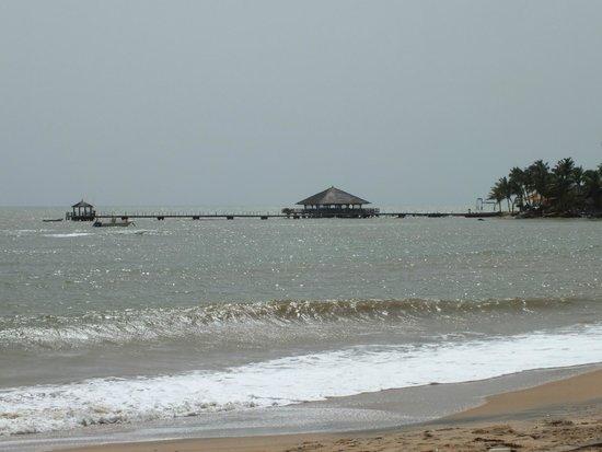 Saly Princess : La plage de l'hôtel