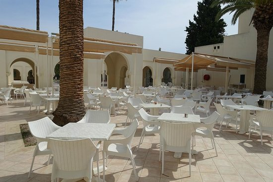 Seabel Alhambra Beach Golf Spa The Restaurant If It Is Not Raining