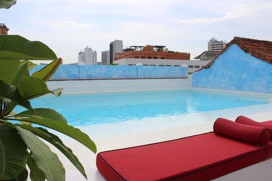 La Passion Hotel Lounge : pool area