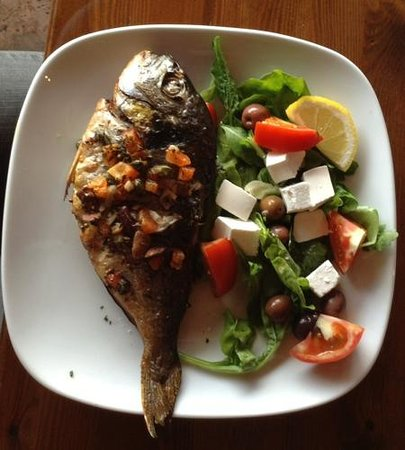 Caffe Bocconcino : super fresh fish, very simple and tasty.