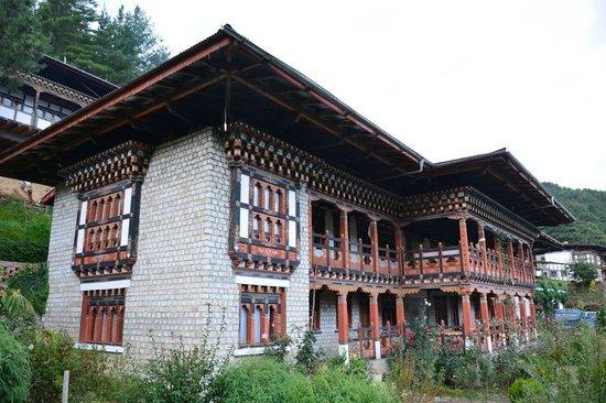 Wangdicholing Guest House: Bhutan Jakar hotel Wangdicholing