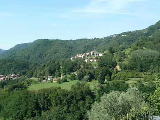 Casa Moretti: vue de la chambre