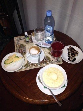 Hotel Siberia: завтрак в номер