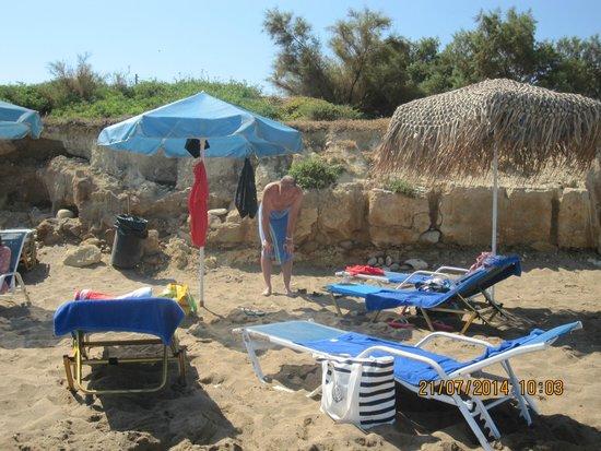 Hotel Rethymnon Mare : stranden