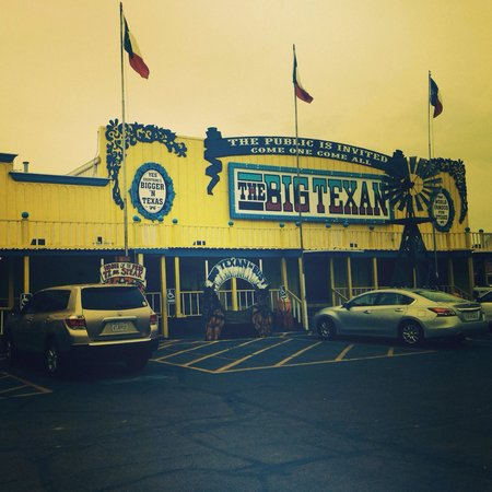 Big Texan Opry: The famous big texan! Everything really is bigger in Texas :-)
