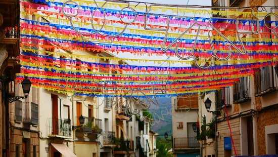 B&B Villa Pico: feestelijk dorp