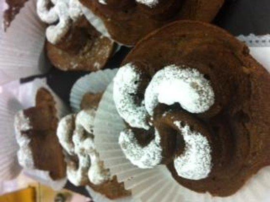 L'Acanthe : brownie croix basque