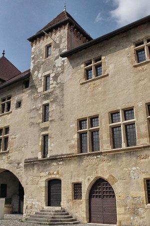 Château d'Annecy : Eingang zur Ausstellung