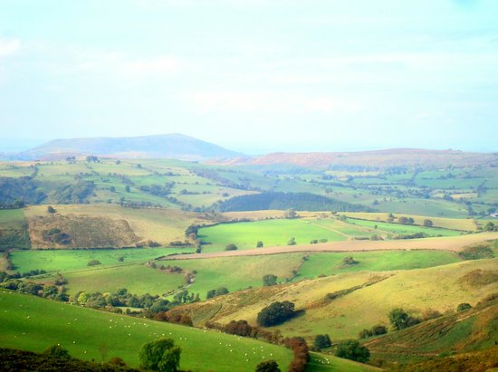 Brookfields Guesthouse: Views from the Long Mynd
