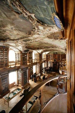 St. Gallen, Schweiz: Blick von der Galerie