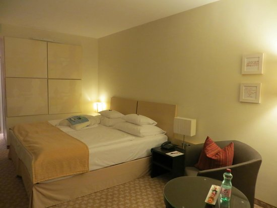 Hotel Das Tigra : Bett