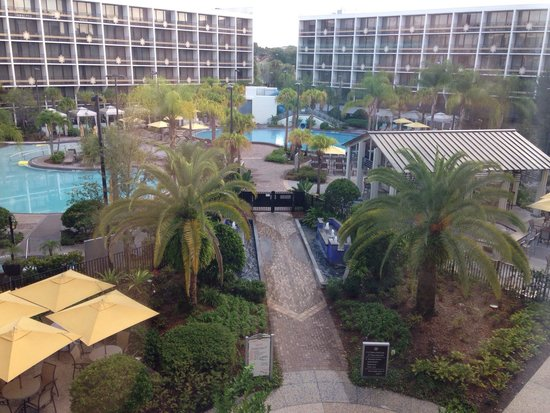 Sheraton Lake Buena Vista Resort: View from our executive suite upgrade