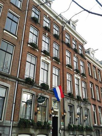 Prinsengracht Hotel: O prédio do Hotel é belissimo, e me senti muito bem acolhido!