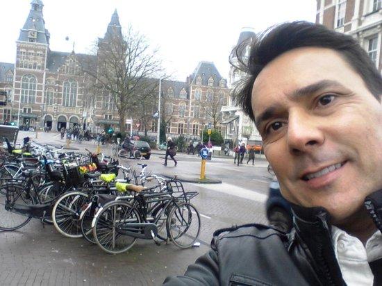 Hampshire Hotel - Prinsengracht Amsterdam : Encantado com Amsterdam e sua arquitetura alemã