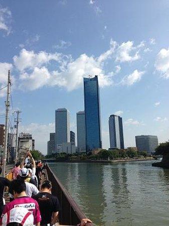 Osaka Business Park: OBPの外観